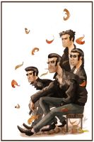 Greasers by superxtoon