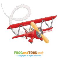 Avion - Aeroplane FROGandTOAD by FROG-and-TOAD