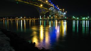 Another Night Bridge Shot by dmjh30