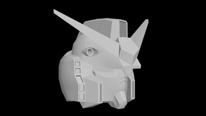 3DsMax Training - RX78 Head by conquer001