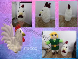 Cucco- Plush Doll by SakuraNights