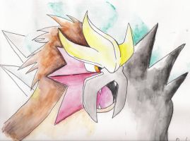 entei by TheSonoftheDarkness