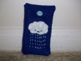 Rainy Day iPod cell phone case by spastic-fantastic