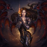 Dark Witchblade by Candra