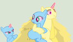 MLP Base- Please Stop Telling Puns During Our Date by Tech-Kitten
