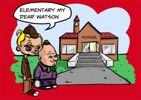 Holmes and Watson - The Early Years by kevbrett