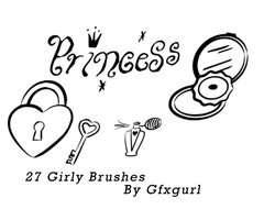 Girly Brushes. by gfxgurl