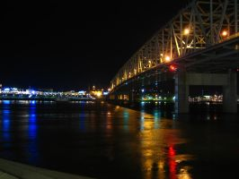 The Ohio at Night by ascendedguard