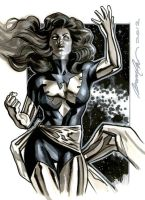 Dark Phoenix commission by felipemassafera