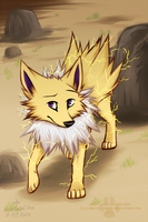 Jolteon by DOLFIY
