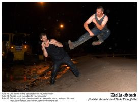 Co-Stock JumpKick.3 by Della-Stock