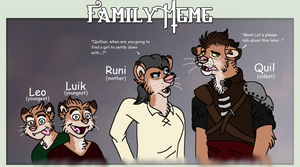 TSS Meme: Quil's Family by The-Solo-Hero