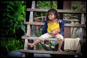 Rice farmer's daughter by Dominion-Photography