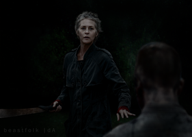 digital art | Carol Peletier #1 by beastfolk