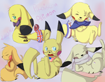 Allimon - Pikachu Allies by PikaIsCool