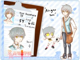 TH student application: Suzahara Nue by wolfnogins