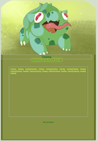 Free use Derp Bulbasaur Journal skin by Wolfvids