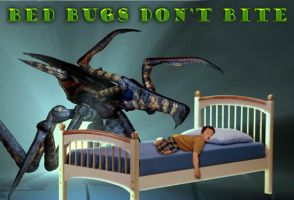 Bed Bugs Don't Bite by Agent-Spiff
