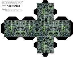 Cubee - Borg Ship by CyberDrone