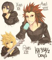 KH: Doodle Party by Norikuu