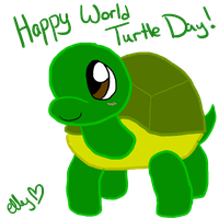 HAPPY WORLD TURTLE DAY by soggycereal