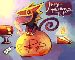 Happy Birthday, PK! by MusicalCombusken