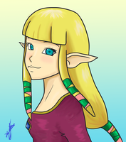 Zelda? by Cloudyh