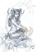 The Faun by akeyla