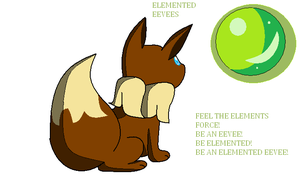 icon contest entry for elemented-eevees by TailTehEeveelution