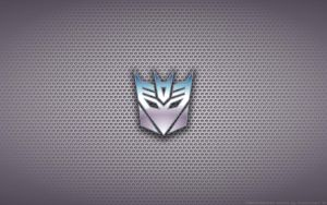 Wallpaper - Transformers 'Decepticons' Logo by Kalangozilla