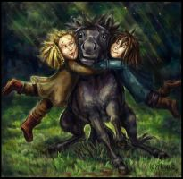 Fili and Kili. First pony... by Aisule