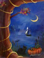 One October Night by zoozee