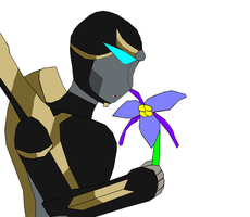 Prowl's Flower by lady-warrior
