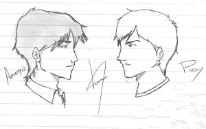 Artemis Fowl and Percy Jackson