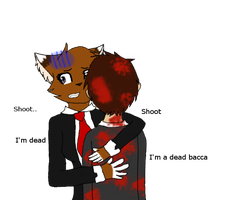 Dare 1 - Hug Bodil666 by warriorwolf12345