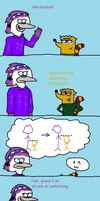Maddie and Robbie Comic: Height by mordyfan13