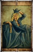 Bowie Tarot Collection - II - The High Priestess by Triever