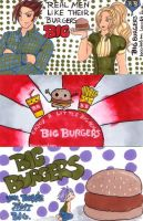 Graphics 1100-02 Burger Ads by saiyanbutterfly