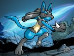 Lucario Course by kunai-of-the-sand