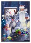 Santa Claus is coming to town by Wolfke74