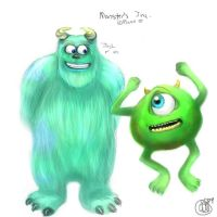 Monsters Inc by AstuteObservations