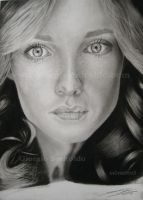Pencil portrait by selvatico3