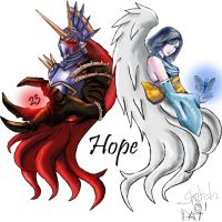 My future Tattoo with Nightmare and Yuna by like-like-you-dream
