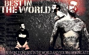 Cm Punk Best In The World by TheAwesomeJeo
