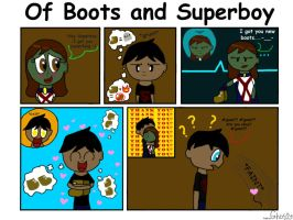 Of Boots and Superboy by GhostDog401