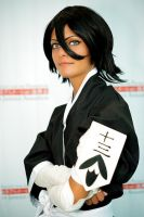 Lueitenant Rukia Kuchiki by theRukiakitty