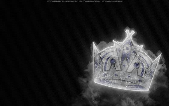 Los Angeles Kings Ice by bbboz