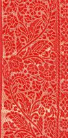 Motif Saree Rouge by LaTaupinette