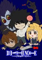 Chibi: Death Note Group by animereviewguy