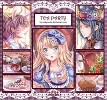 Necromancia Opus 6.Wonderland: Tea Party (Preview) by Reikyourin